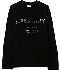 burberry black sweatshirt