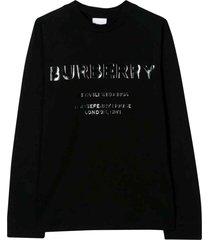 burberry black sweatshirt