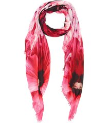 'paradise' skull shawl