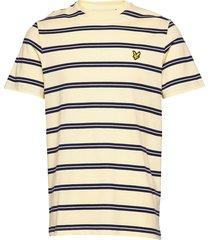 wide double stripe t-shirt t-shirts short-sleeved gul lyle & scott