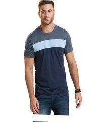 camiseta adulto masculino gris oscuro marketing  personal