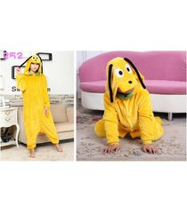 hot sale pluto dog fancy unisex adult cosplay costume pajamas homewear sleepwear
