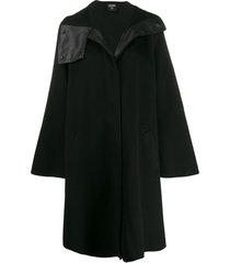 jean paul gaultier pre-owned 1990's asymmetric collar a-line coat -