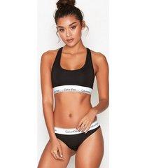 calvin klein underwear modern cotton bikini brief briefs svart