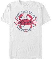 fifth sun men's crab lifestyle short sleeve crew t-shirt