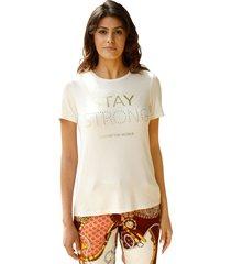 shirt amy vermont ecru::goudkleur