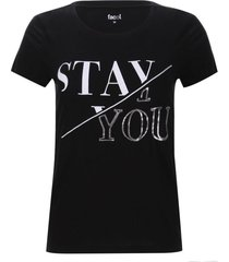 camiseta lentejuelas stay you