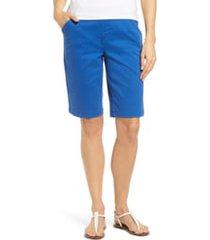 women's jag jeans gracie bermuda shorts, size 8 - blue