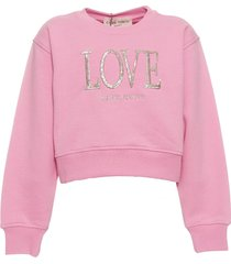 alberta ferretti fleece sweatshirt