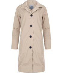 happyrainydays regenjas soft touch coat greece ginger-xl