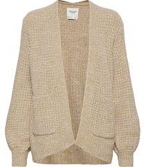 anf womens sweaters gebreide trui cardigan beige abercrombie & fitch