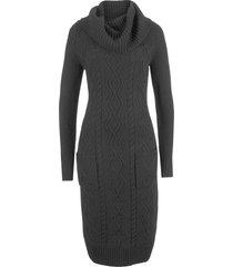 abito in maglia con tasche (nero) - bpc bonprix collection
