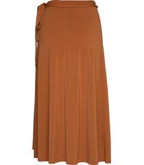 altea knälång kjol brun by malene birger