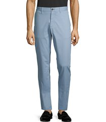 slim-fit stretch-cotton chino pants