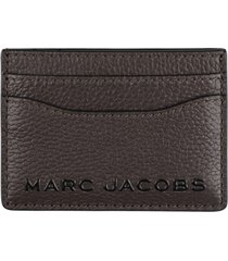 marc jacobs pebbled calfskin card holder