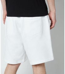dsquared2 men's relax fit icon shorts - white - l