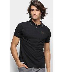 camisa polo ecko piquet fash basic masculina