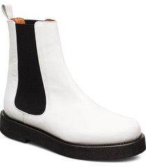 seoul high boots stövletter chelsea boot vit twist & tango