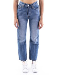 """""""ribcage straight ankle"""" jeans"""