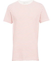 the organic striped tee t-shirts short-sleeved rosa by garment makers