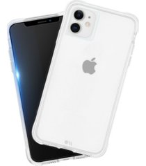 case-mate protection pack tough clear case plus glass screen protector for apple iphone 11