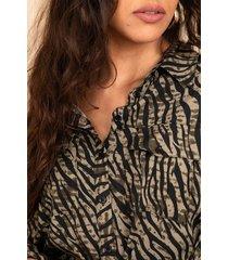 femme9 blouse groen deniz