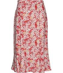 sorrento skirt knälång kjol röd odd molly