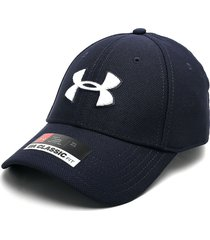gorra azul navy-blanco under armour blitzing 3.0 classic fit