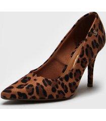 zapato animal print vizzano