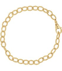 women's lagos caviar link bracelet