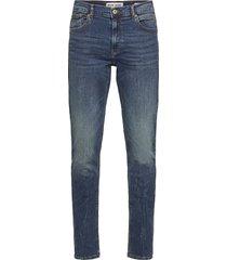 6206724 sdryder slimmade jeans blå solid