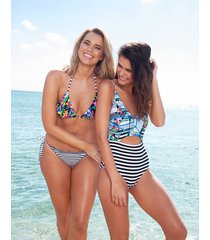 puzzle soft cut out tummy control one-piece swimsuit