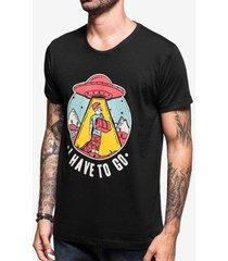 tshirt i have to go 103889 masculina - masculino