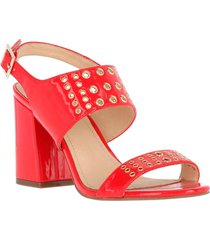 sandalia beautiful rojo hush puppies
