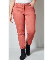 jeans janet & joyce terracotta