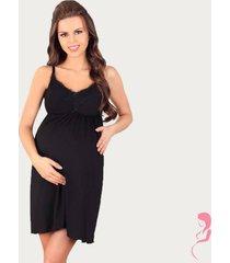 lupoline zwangerschapsjurk / voedingsjurk black