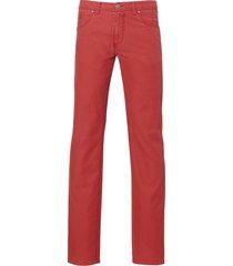 sale - jac hensen jeans - modern fit - rood