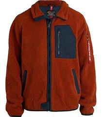 ridge fleece utility jacket