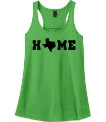 home texas map lonestar state shirt racerback tank top