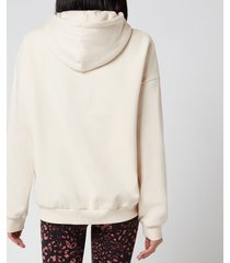 p.e nation women's cross header hoodie - pearled ivory - l