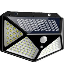 cadena solar 100 led luz impermeable al aire libre garden 3 side led a