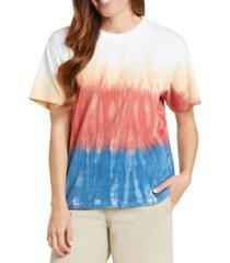 dickies cotton tie-dyed boyfriend t-shirt