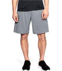 pantaloneta gris under armour 1306443-035