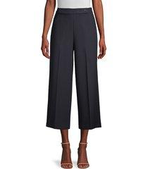 elie tahari women's juno wide-leg pants - stargazer - size 12