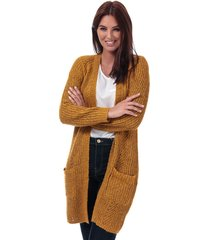 only womens bernice open cardigan size 12-14 in gold