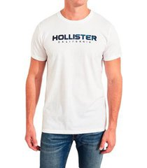 camiseta hollister gráfica masculina