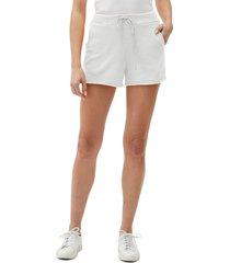 women's michael stars otto cutoff shorts, size medium - white