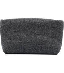 kassl editions clutch bag - grey