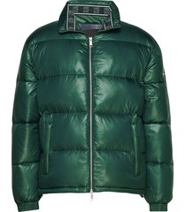 ax man down jacket gevoerd jack groen armani exchange