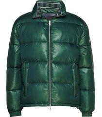 ax man down jacket gevoerd jack groen armani exchange